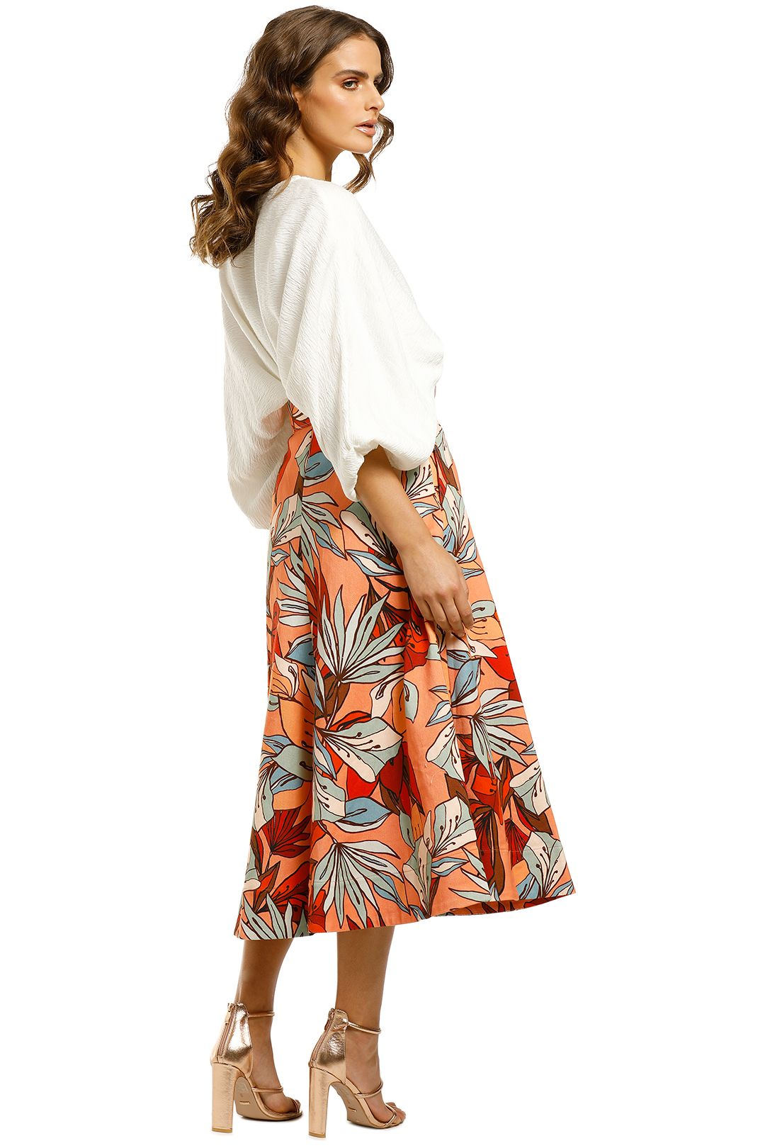 Nicholas-Jacqueline-Skirt-Tarama-Deco-Floral-Back