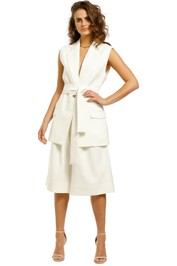 Nicholas-Jennifer-Jacket-and-Amy-Short-Set-White-Front