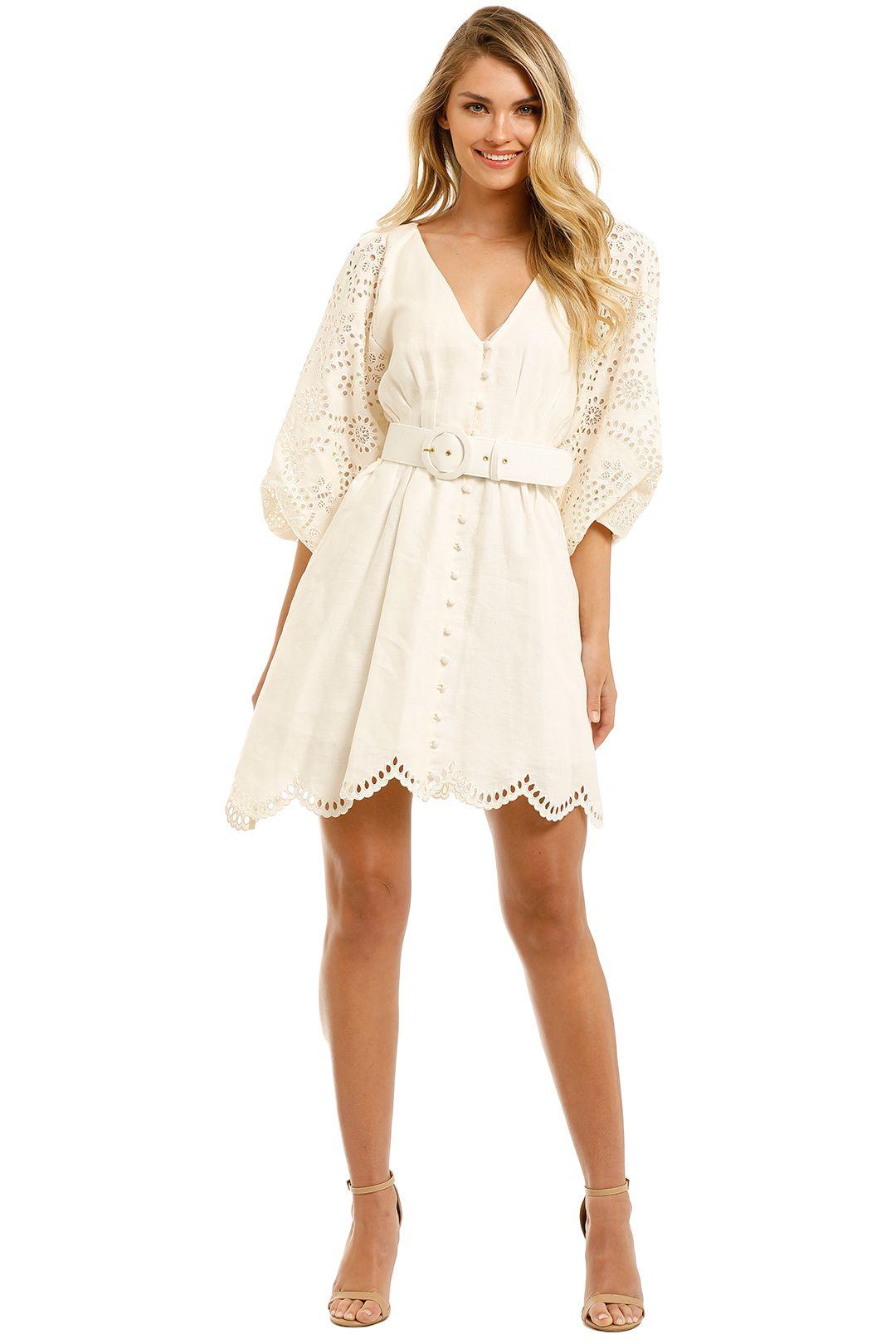 Nicholas-Louise-Dress-Ivory-Front