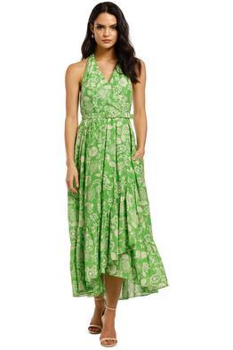 Nicholas-Patricia-Dress-Leaf-60s-Tonal-Paisley-Front