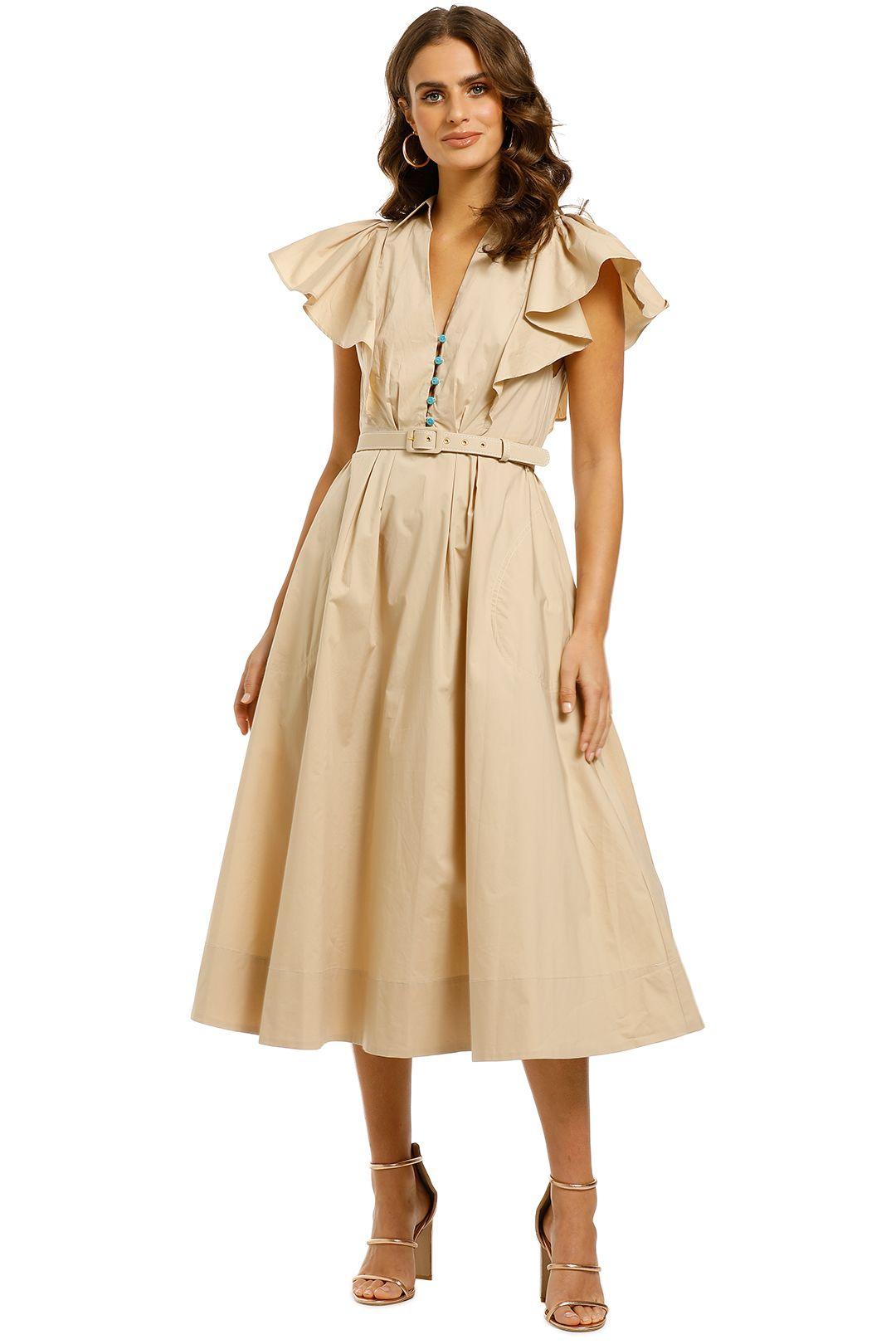 Nicholas-Sandra-Dress-Adobe-Front