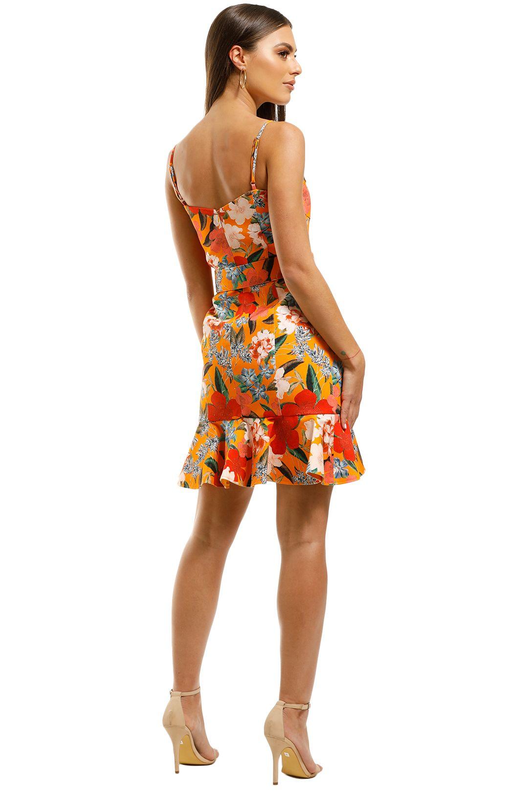 Nicholas-The-Label-Arielle-Fill-Dress-Tangarine-Back