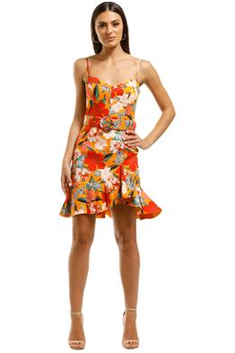 Nicholas-The-Label-Arielle-Fill-Dress-Tangarine-Front