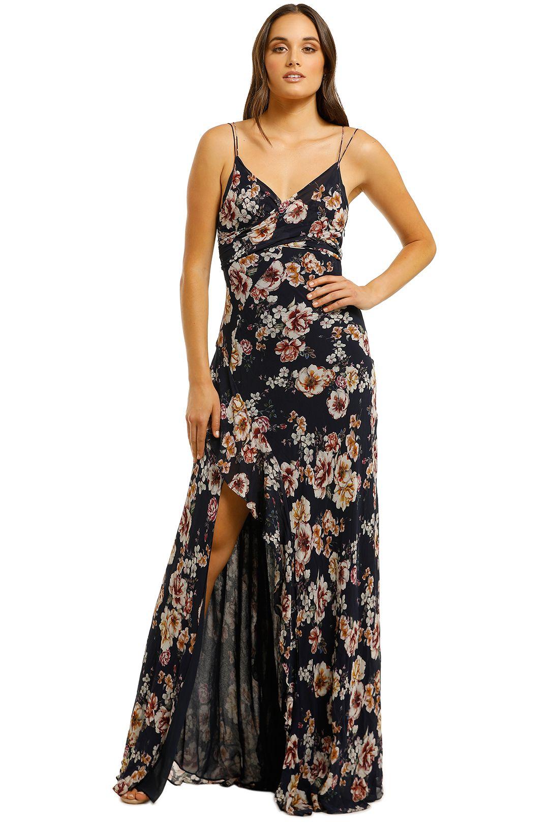 Nicholas-The-Label-Garden-Rose-Tie-Front-Maxi-Dress-Navy-Floral-Front