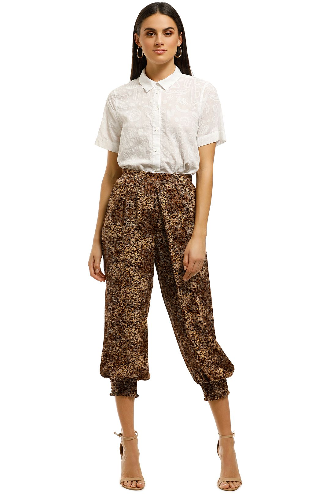 Nicholas-The-Label-Genie-Pant-Mini-Leopard-Front