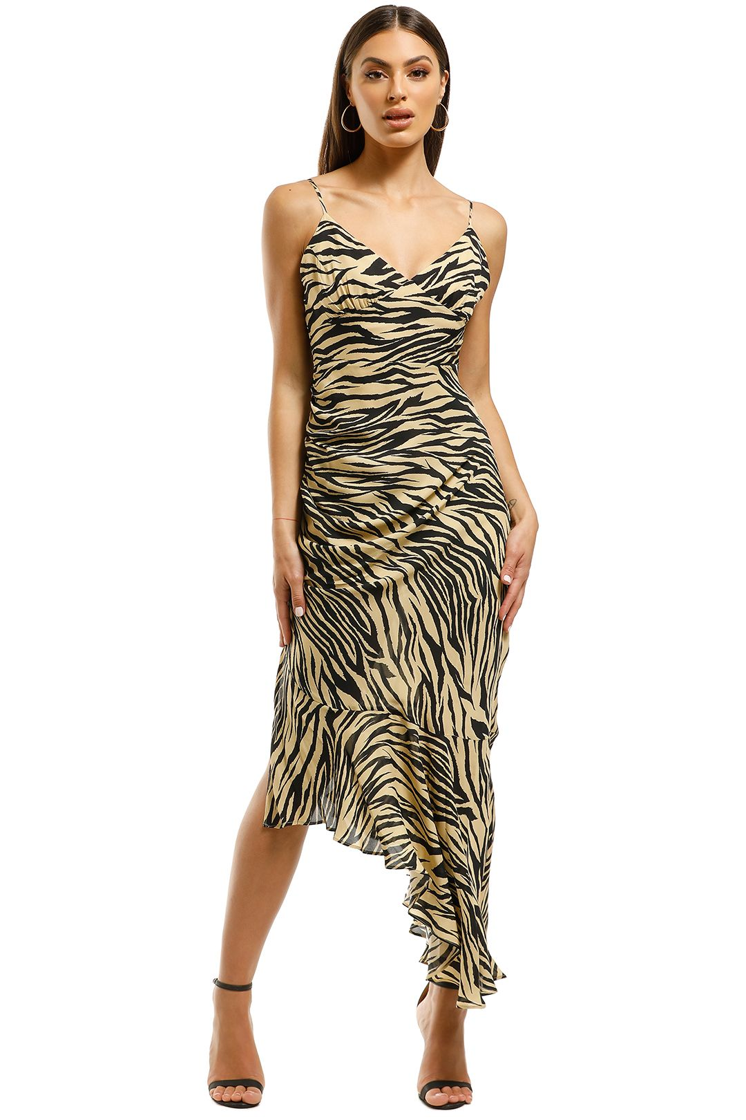 Nicholas-The-Label-Triangle-Top-Slip-Dress-Zebra-Front