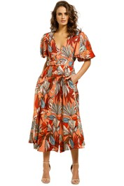 Nicholas-Troy-Dress-Tarama-Deco-Floral-Front