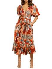 Nicholas-Troy-Dress-Tarama-Deco-Floral-Front