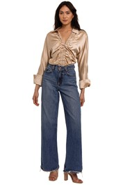 Nicholas Amber Top Shell ruched