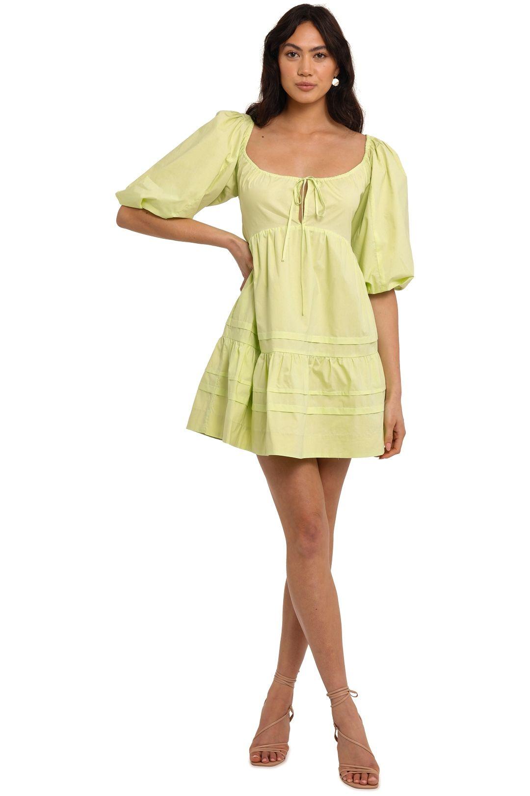 Nicholas Belle Dress Limeade scoop