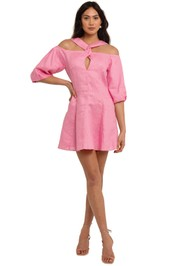 Nicholas Casi Dress Flamingo