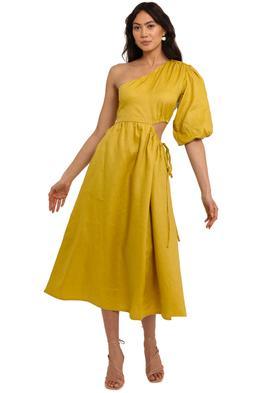 Nicholas Crissa Dress Limeade