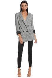 Nicholas the Label - Check Grey Suiting Blazer - Front