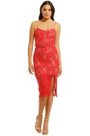 Nicholas the Label - Rubie Lace Bra Dress - Watermelon - Front