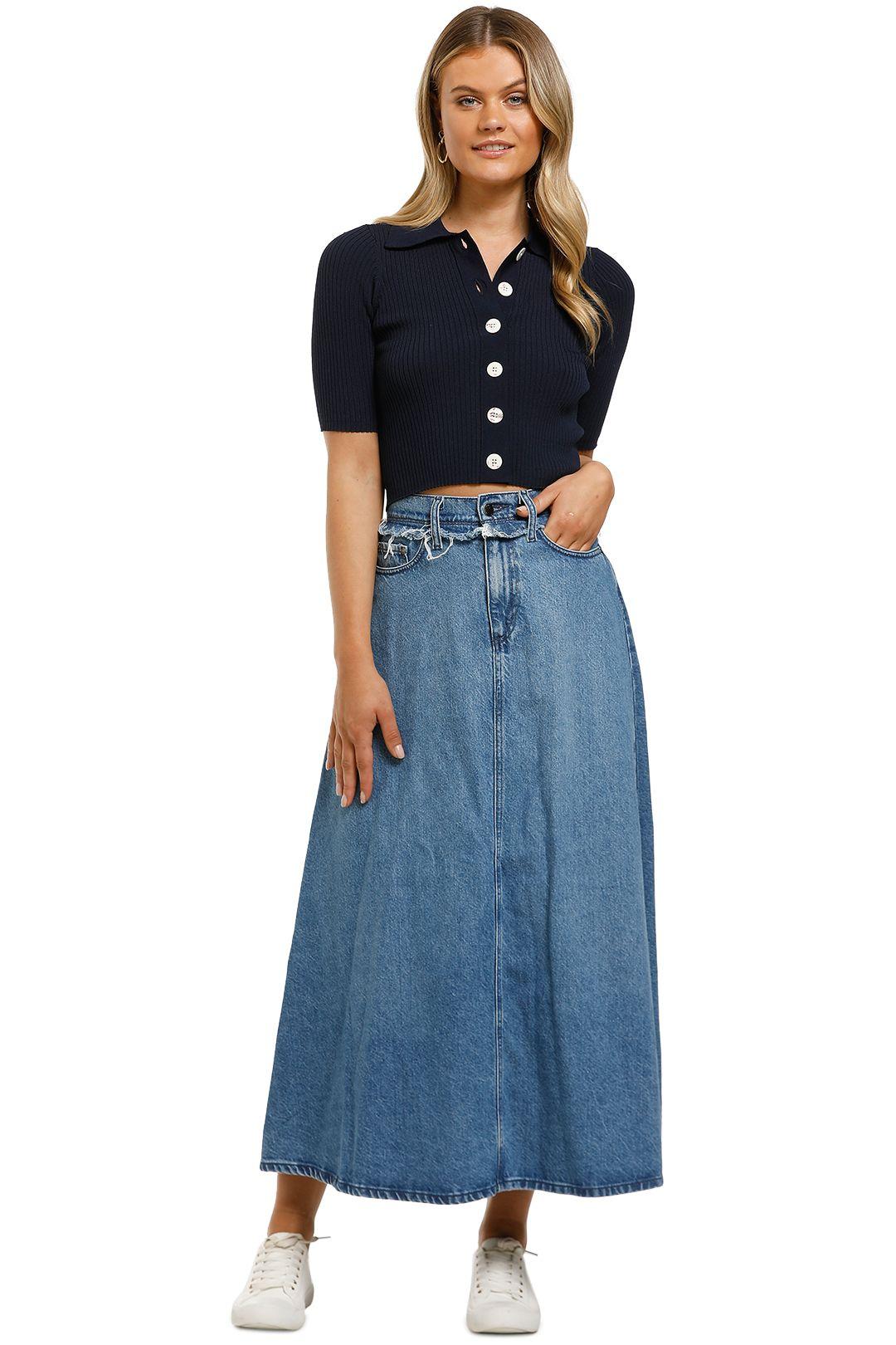 Nobody-Denim-Como-Skirt-Mid-Authentic-Indigo-Front