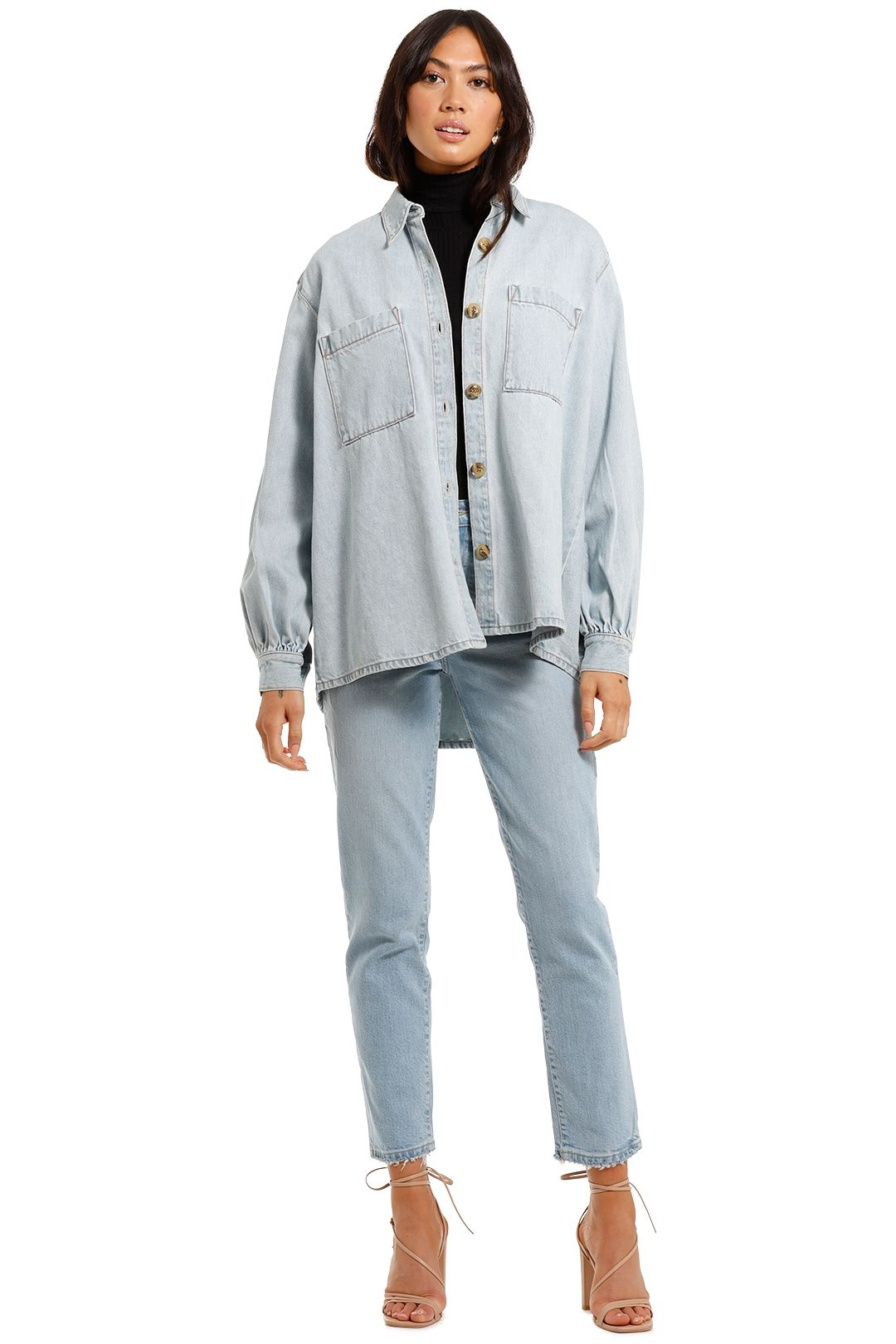 Nobody Denim Artist Jacket oversized
