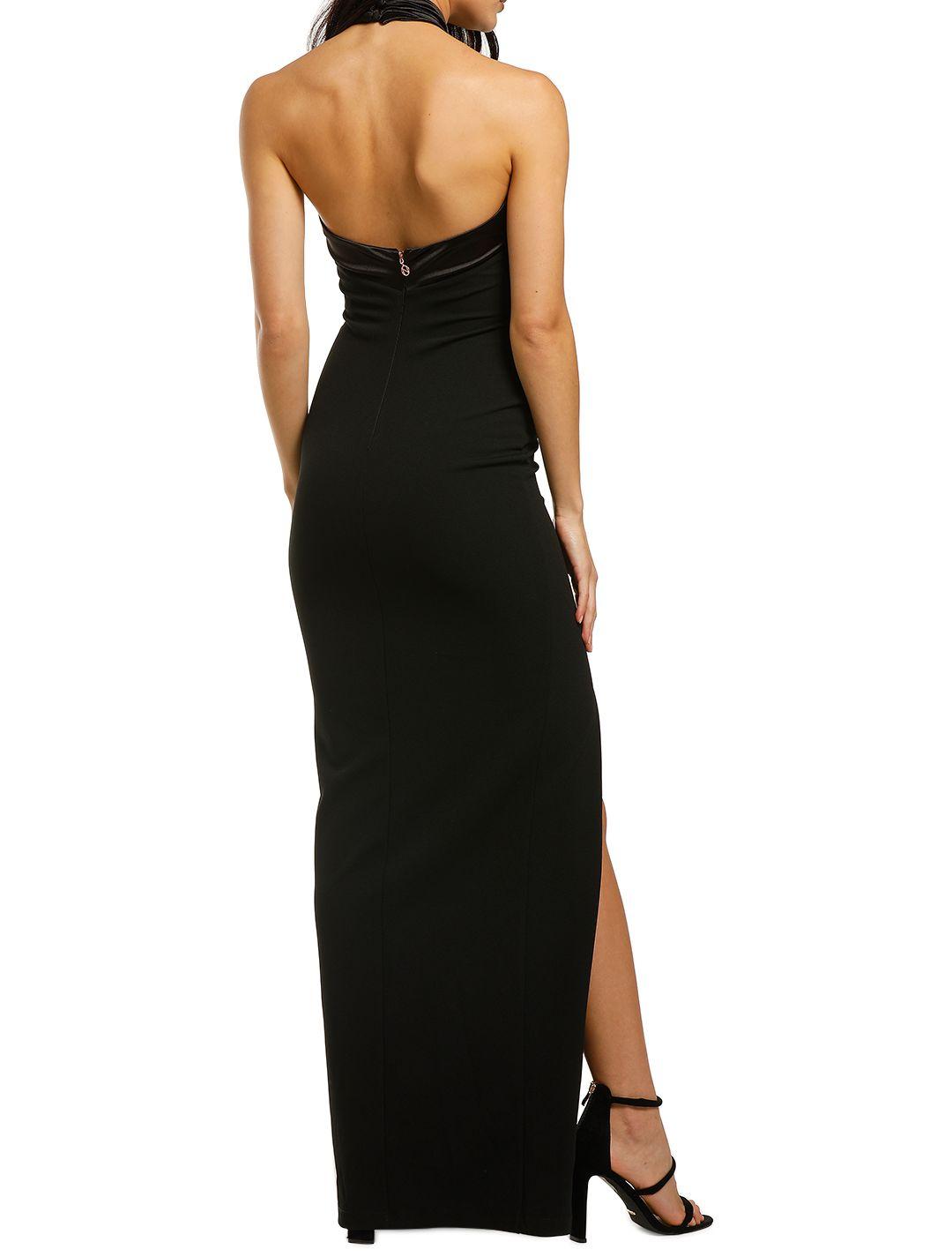 Nookie-Alias-Halter-Gown-Black-Back
