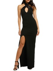 Nookie-Alias-Halter-Gown-Black-Front