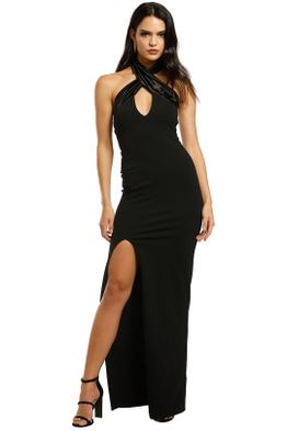 Nookie-Alias-Halter-Gown-Black-Front
