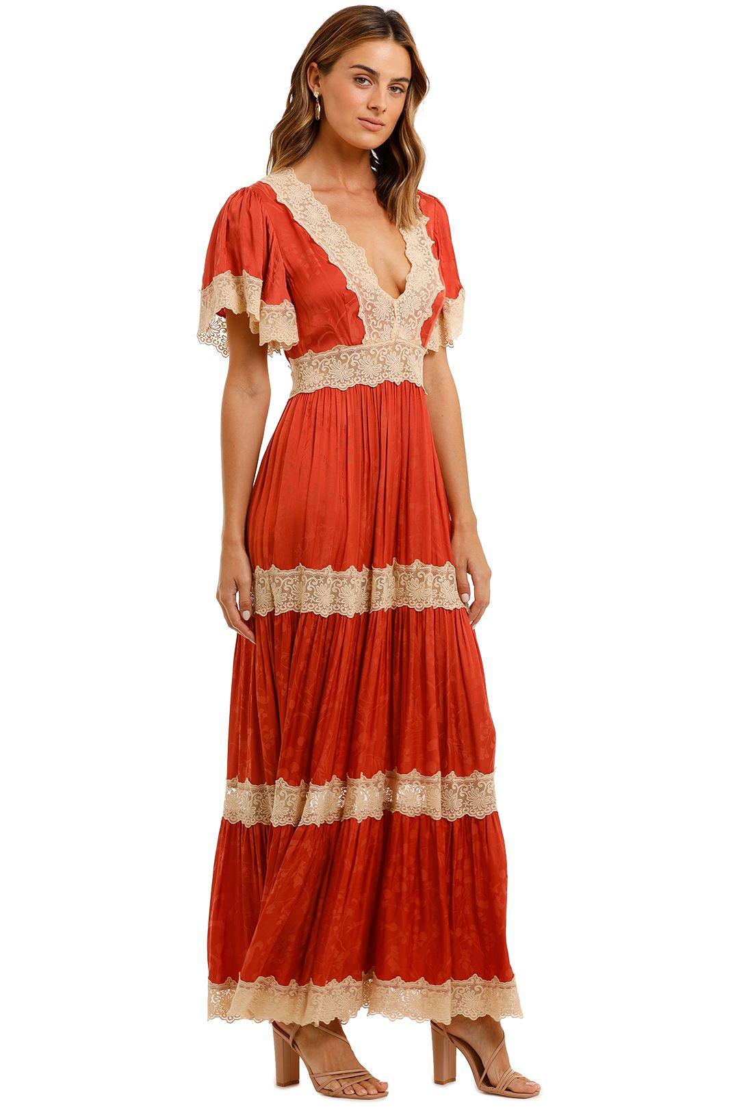 Ocean Gown Copper Maxi