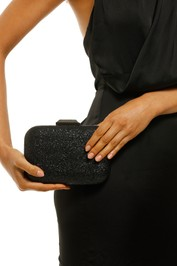 Olga-Berg-Lenny-Metallic-Textured-Clutch-Black-Product