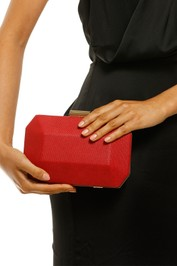 Olga-Berg-Molly-Faceted-Clutch-Product