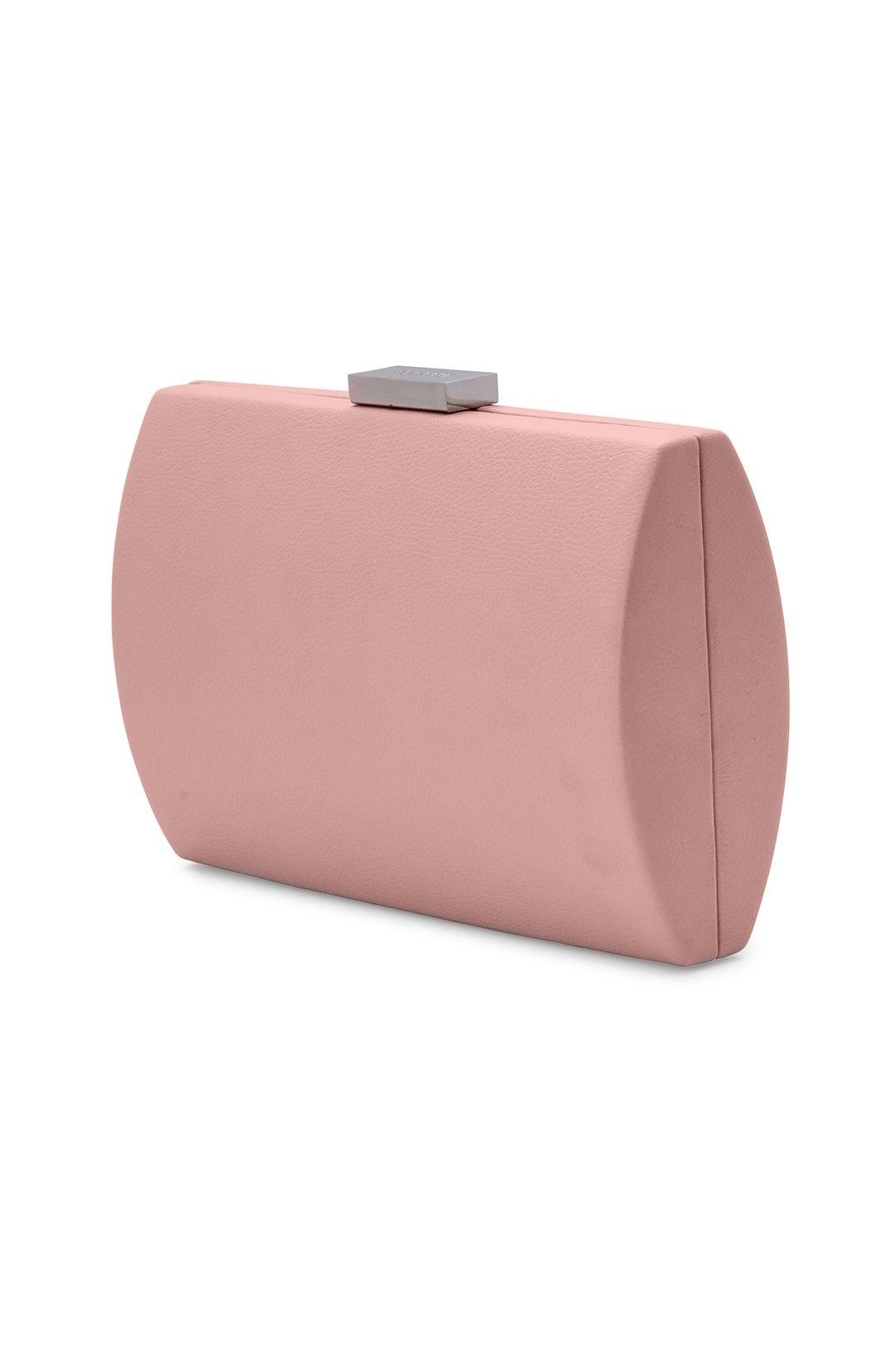 Olga Berg - Adley Oversized Pod - Pale Pink - Side