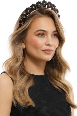 Olga Berg - Amara Headband - Black - Product