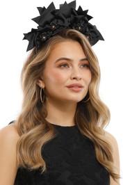 Olga Berg - Jada Headband - Black - Product