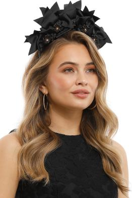 Olga Berg - Jada Headband - Black - Product