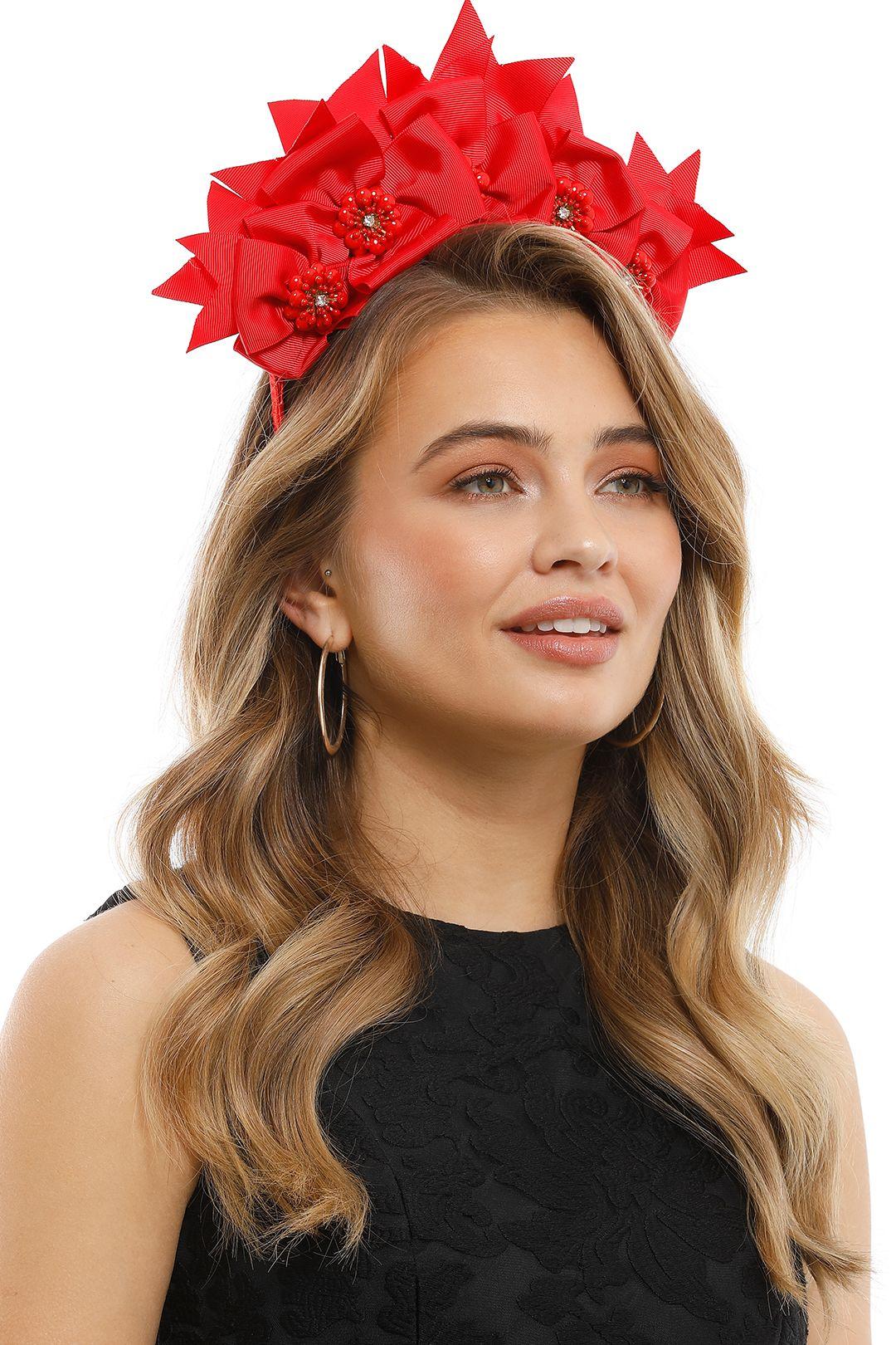 Olga Berg - Jada Headband - Red - Product