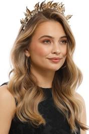 Olga Berg - Letitia Headband - Gold - Product