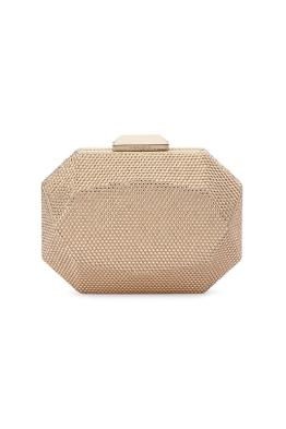 Olga Berg - Telesa Crystal Facet Clutch - Gold - Product