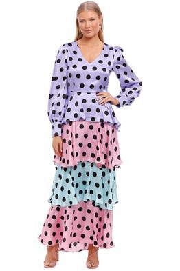 Olivia Rubin Eveline Dress Colour Block