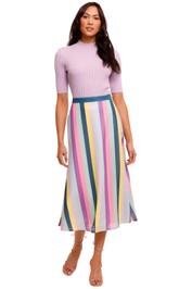 Olivia Rubin Penelope Striped Skirt