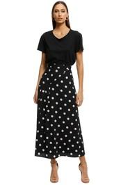 Pasduchas-Abbey-Skirt-Black-White-Front