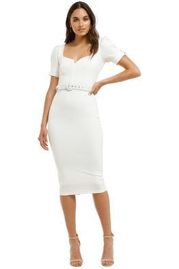 Pasduchas-Cascade-Sleeve-Midi-Dress-Ivory-Front