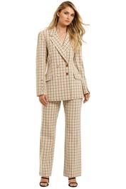Pasduchas-Checker-Blazer-and-Trouser-Set-Fawn-Front