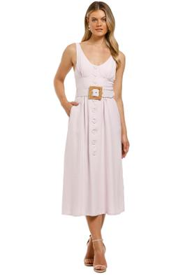 Pasduchas-Fontain-Midi-Dress-Lilac-Front