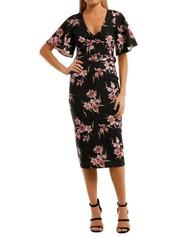 Pasduchas-Haven-Sleeve-Midi-Dress-Orchid-Front