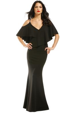 Pasduchas-Irreplaceable-Gown-Black-Front