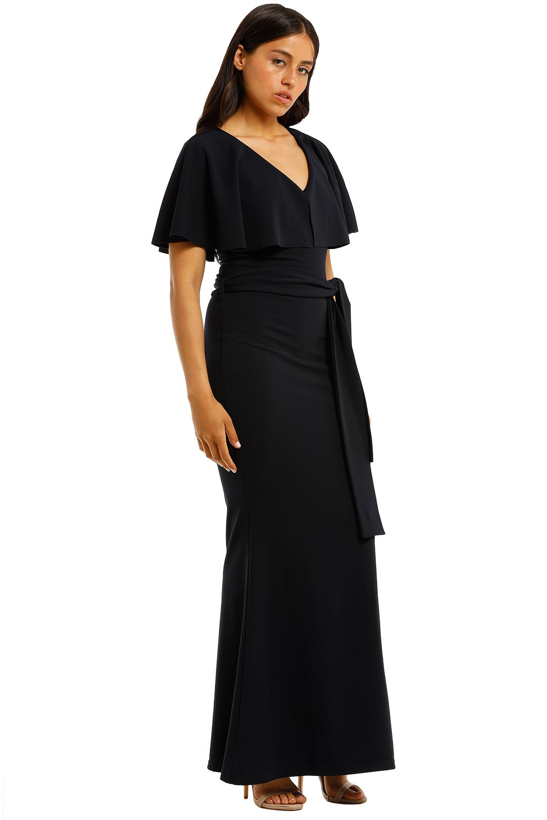 Pasduchas-Mrs-Carter-Gown-Navy-Side