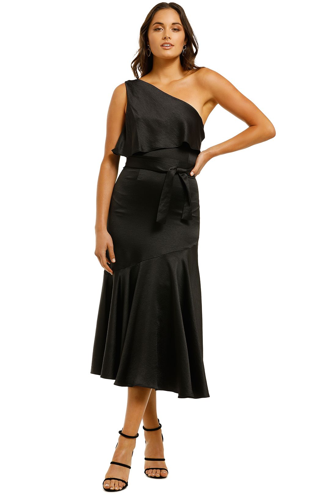 Pasduchas-Oasis-Asymmetry-Midi-Dress-Black-Front