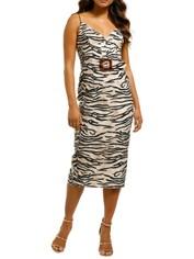Pasduchas-Untamed-Tri-Midi-Dress-Natural-Front
