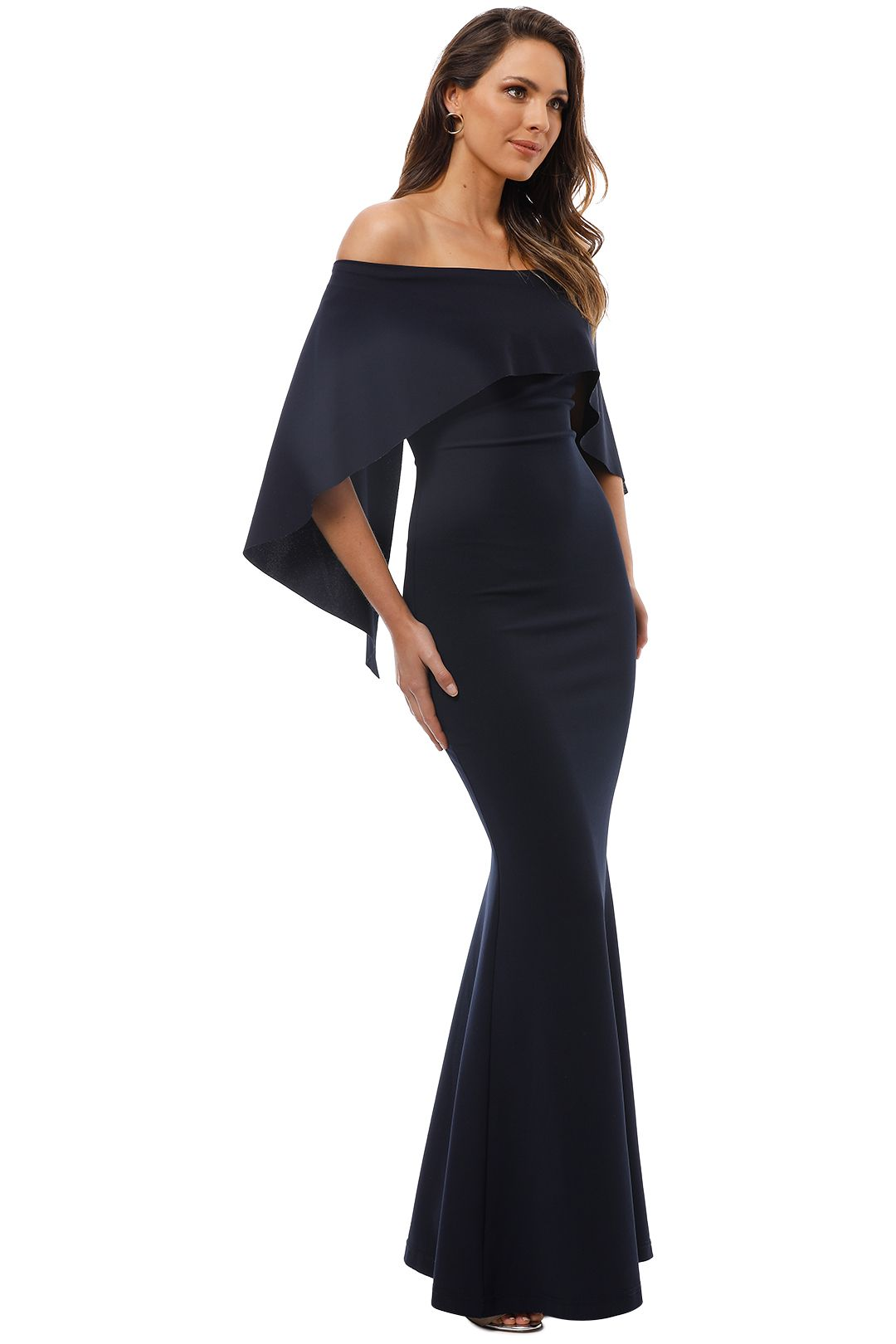 Pasduchas - Composure Gown - Navy - Side