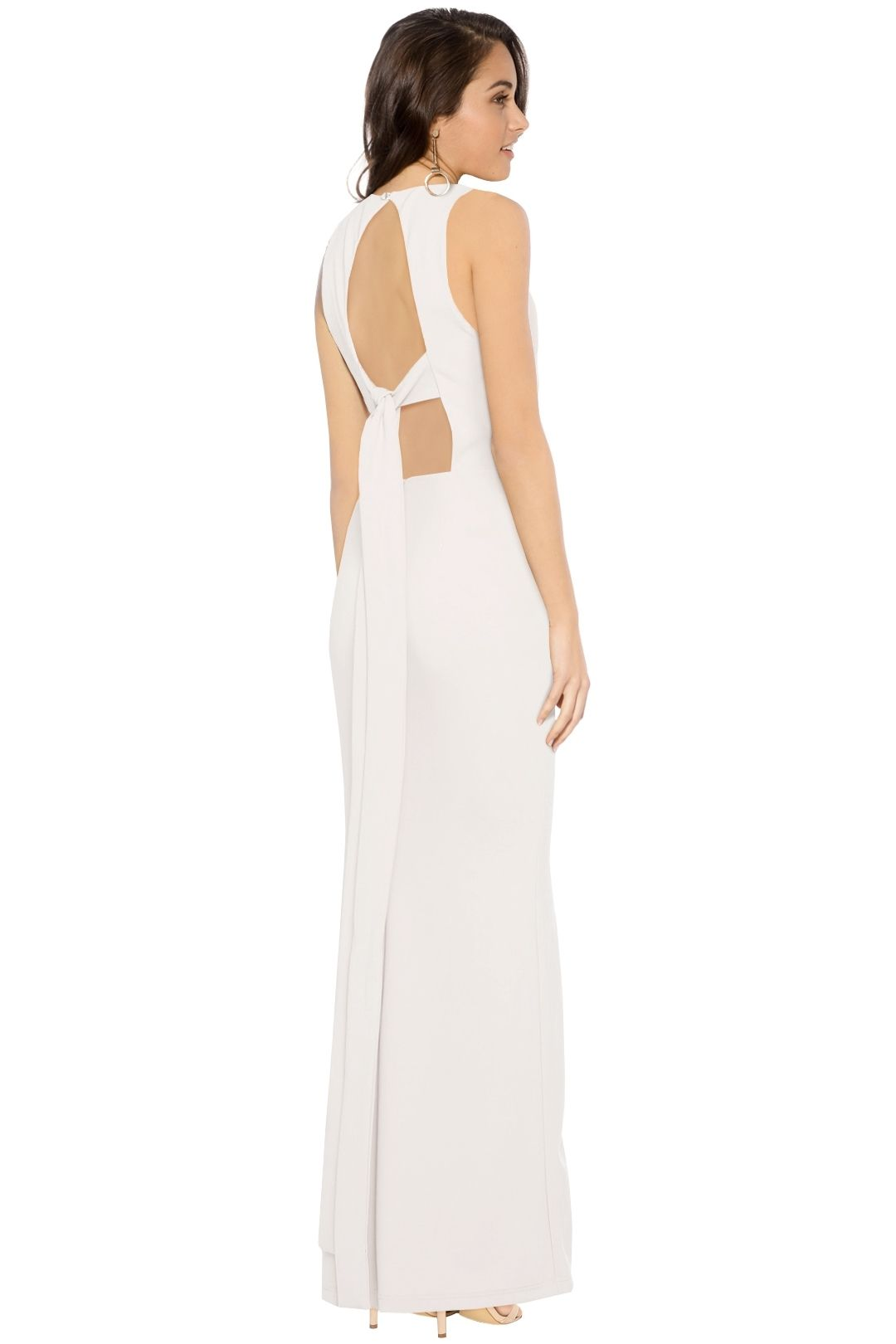 Pasduchas - Cruz Gown - Ivory - Back