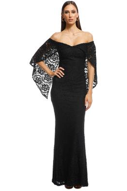 Pasduchas - Flourish Gown - Black - Front
