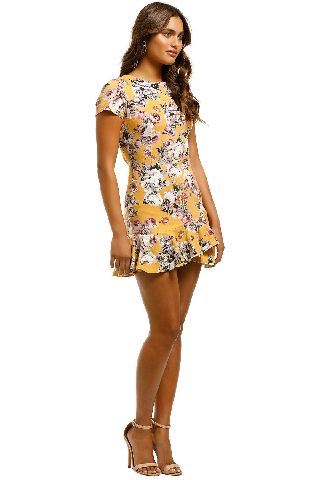 Pasduchas - Havana Flip Dress - Marigold - Side