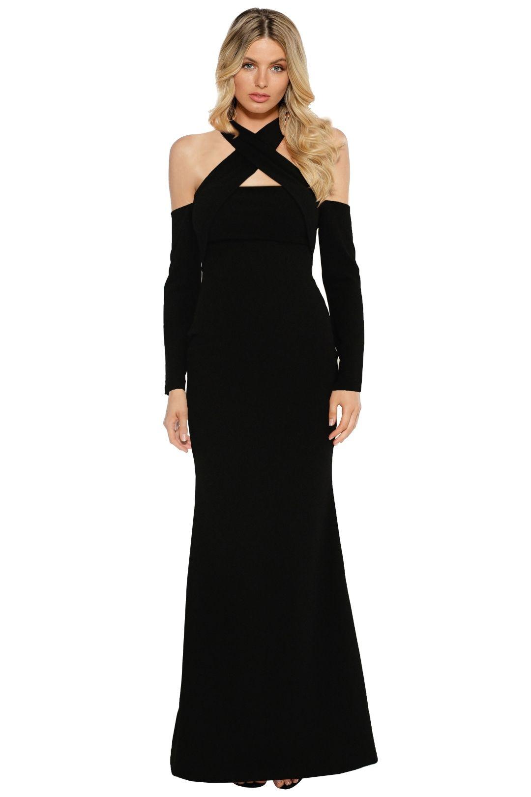 Pasduchas - Lyric LS Gown - Black - Front