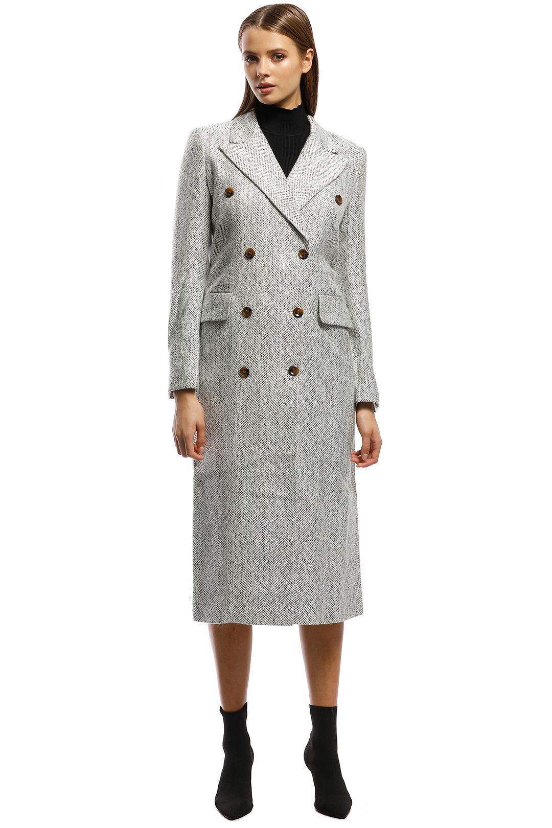Pasduchas - Maverick Coat - Grey - Front